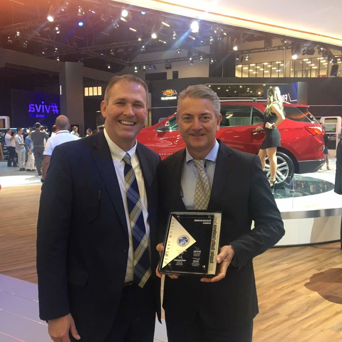 GM SQ Excellence Awards : Supplier of the year (Brazil)