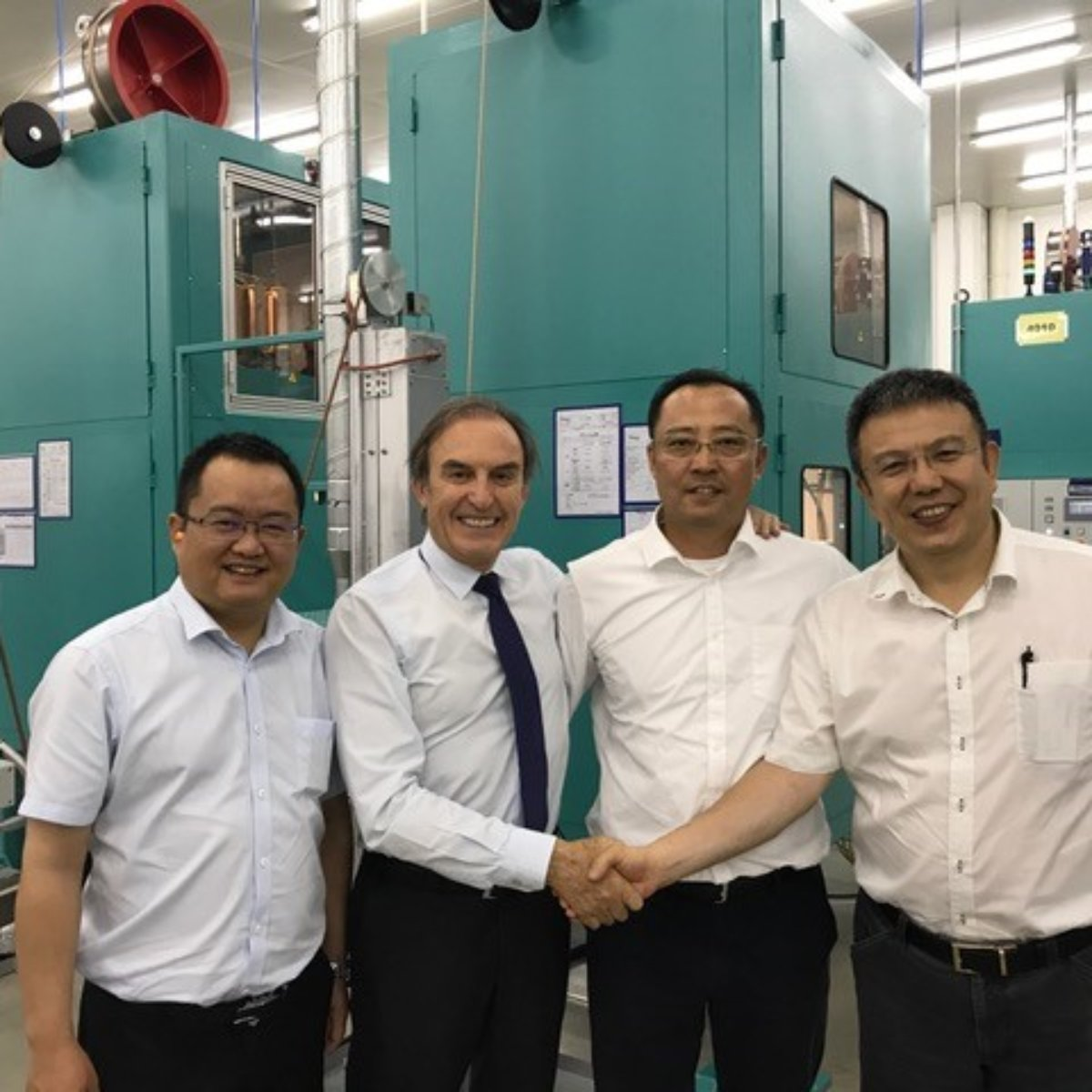 08/2018 – New hose manufacturing plant in China – welcoming new chinese customers