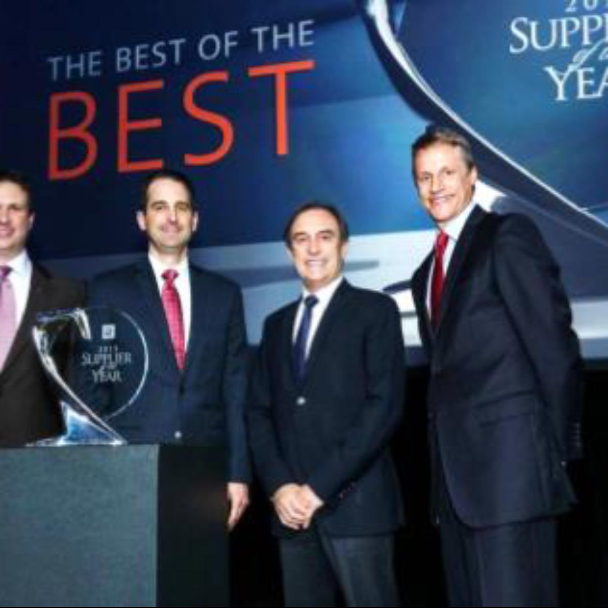 GM supplier awards for NA