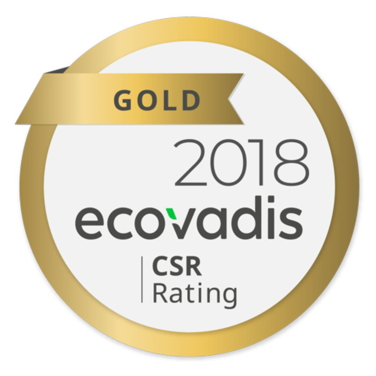 02/2019 – Flexitech Europe received the gold medal of ECOVADIS for its Corporate Social Responsability